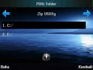 cara mengpack file melalui hp, pilih folder
