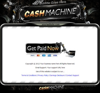 Sales Page | Cash Machine