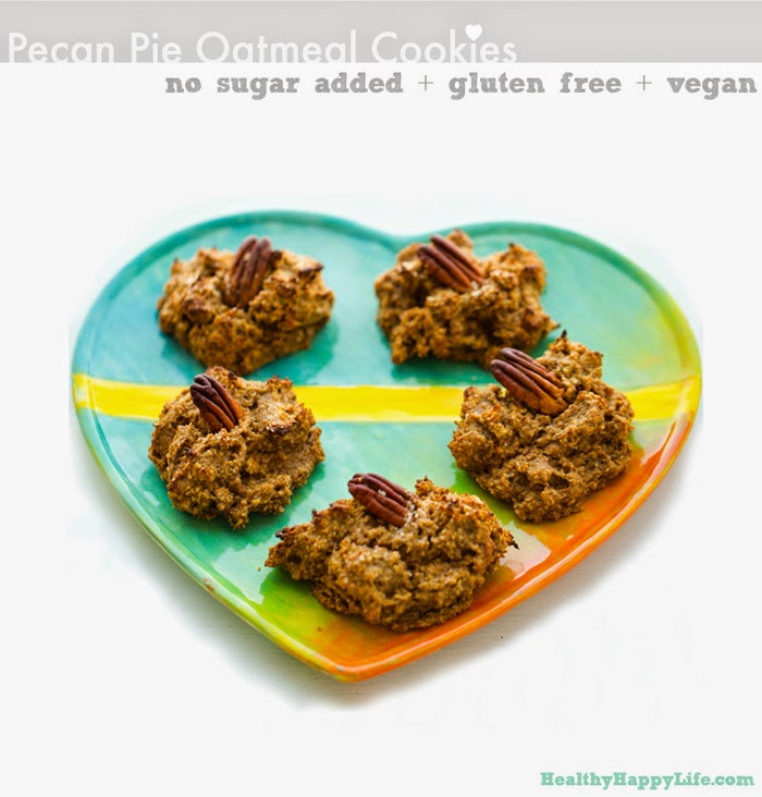 Pecan Pie Oatmeal Cookies