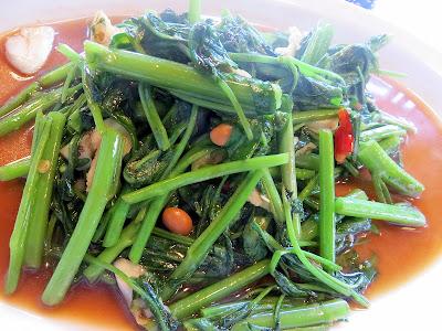 Sen Yai's Phak Buung Fai Daeng Thai food Andy Ricker Sen Yai noodle restaurant