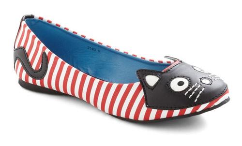 Inspiração: gatinho - sapatilha