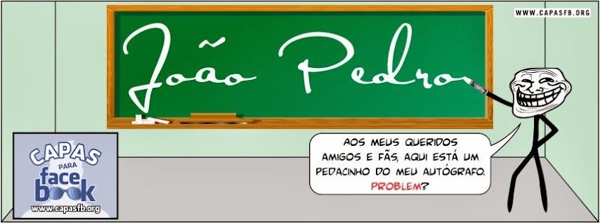 Capas para Facebook João Pedro