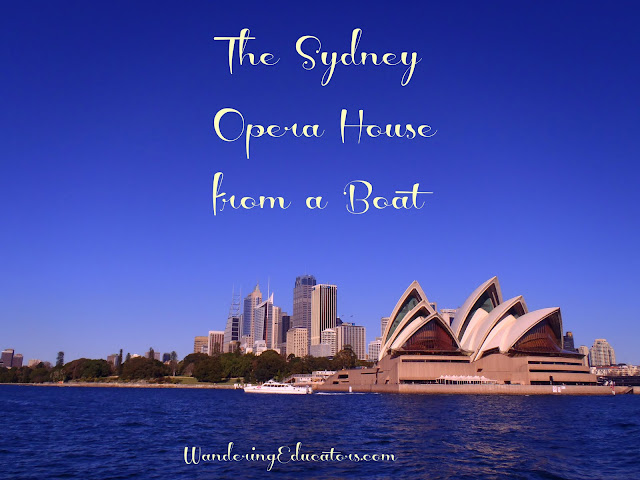 Sydney Opera House from a Boat!