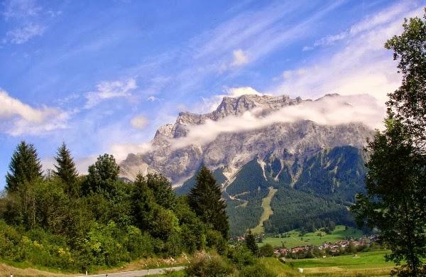Zugspite, la montaña más alta de Alemania