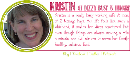 Kristin from Dizzy, Busy and Hungry's contributor badge from Anyonita-nibbles.co.uk