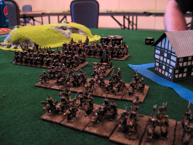 Chad's Orcs (they had a lot of units).