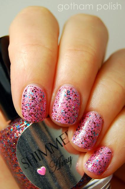 Shimmer Polish Amy