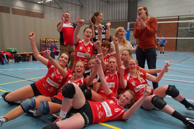 Bevo Roeselare volleybal kampioen in 2e divisie