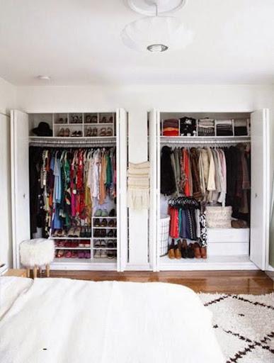 Mách bạn cách biến chỗ bừa bộn thành tủ quần áo gọn gàng-6