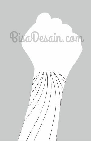 04. Membuat Tangan Dengan Corel Draw