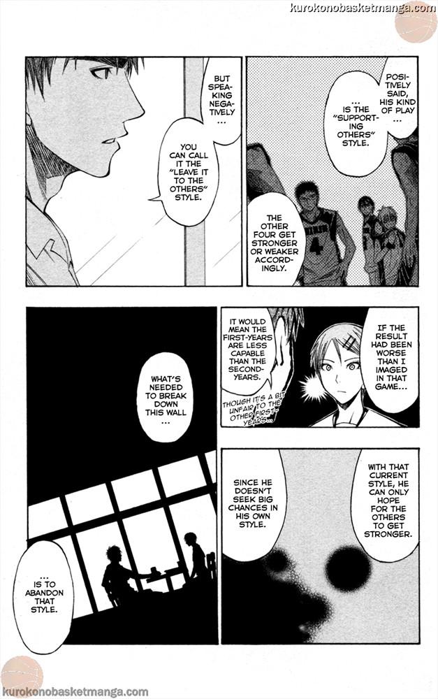 Kuroko no Basket Manga Chapter 56 - Image 13