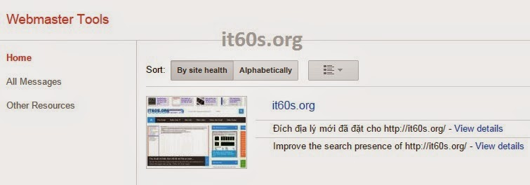 Cách xác minh Website Wordpress trong Webmaster tools 3