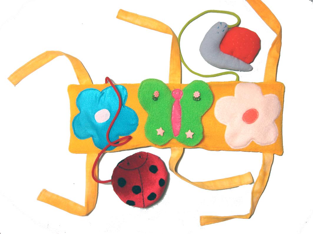 Развивающая игрушка в коляску