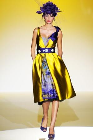 81b4e9ee02 Patricia Avendaño presentó estos vestidos de ceremonia 2013 en la pasada  edición de la pasarela Gaudí Novias.