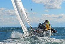 J/24  sailing Victoria States in Australia