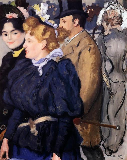 Louis Anquetin - Promenade, 1892