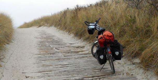 Sand und mehr: Panther Dominance Trekking am Deich von Borkum
