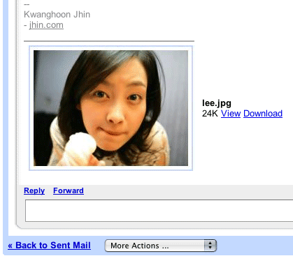 Gmail Image Preview