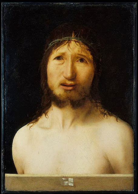Antonello da Messina - Christ Crowned with Thorns