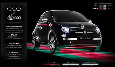 US Fiat By Gucci Unveiled In New York New Website Launched - Fiat 500 website