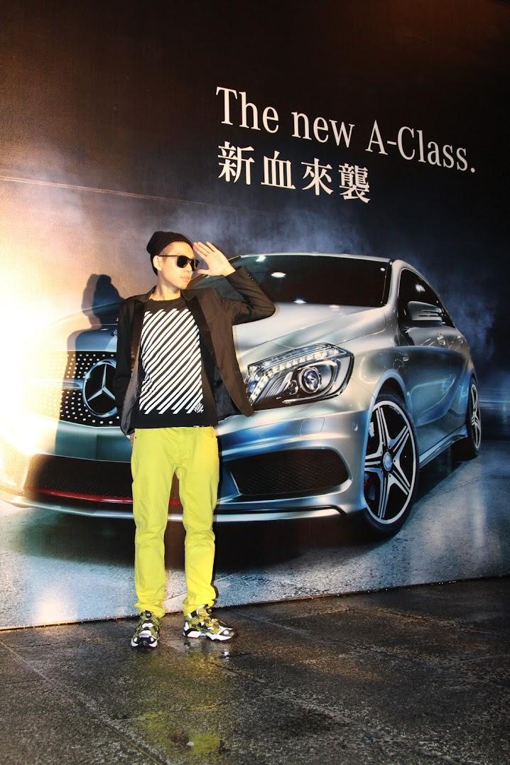 *Mercedes-Benz The new A-Class 跟著蔡依林搭載小鋼砲新血來襲:「PROJECT A+」萬人電音派對! 2
