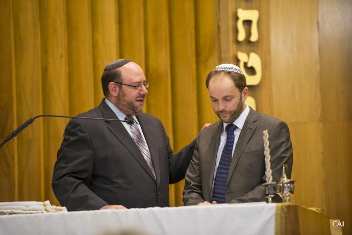 Rabbi Steve Wernick and Rabbi Claudio Jodorkovsky