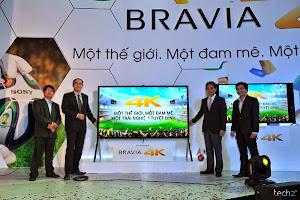 V 4K BRAVIA - Một trải nghiệm đầy đam mê