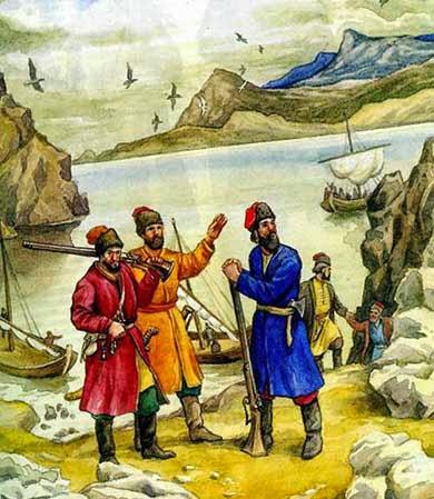 Казаки в Сибири