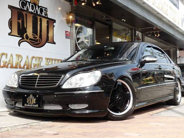 mercedesbenz s600l w220 amg vip style from japan benztuning