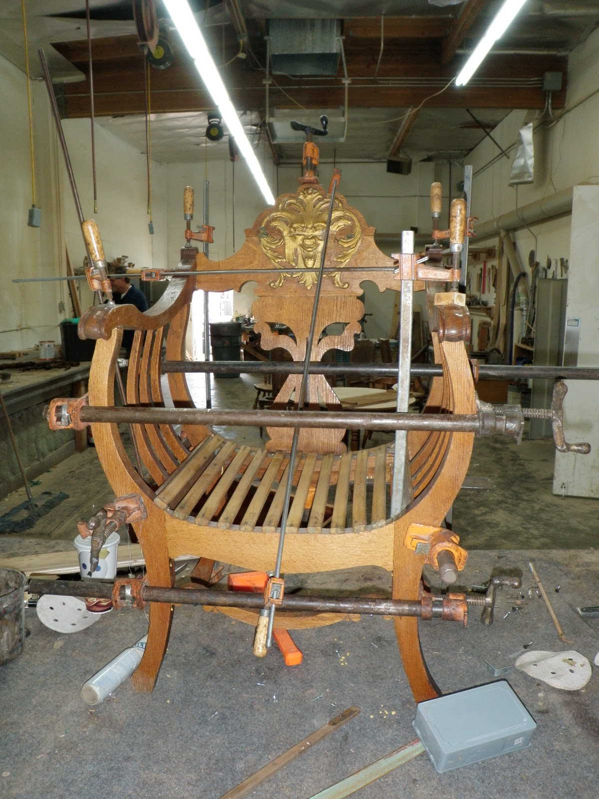 Rahn s furniture refinishing clamps