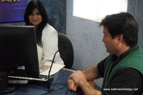 Entrevista a la Secretaria de Turismo de Sabinas Hidalgo en AW Noticias
