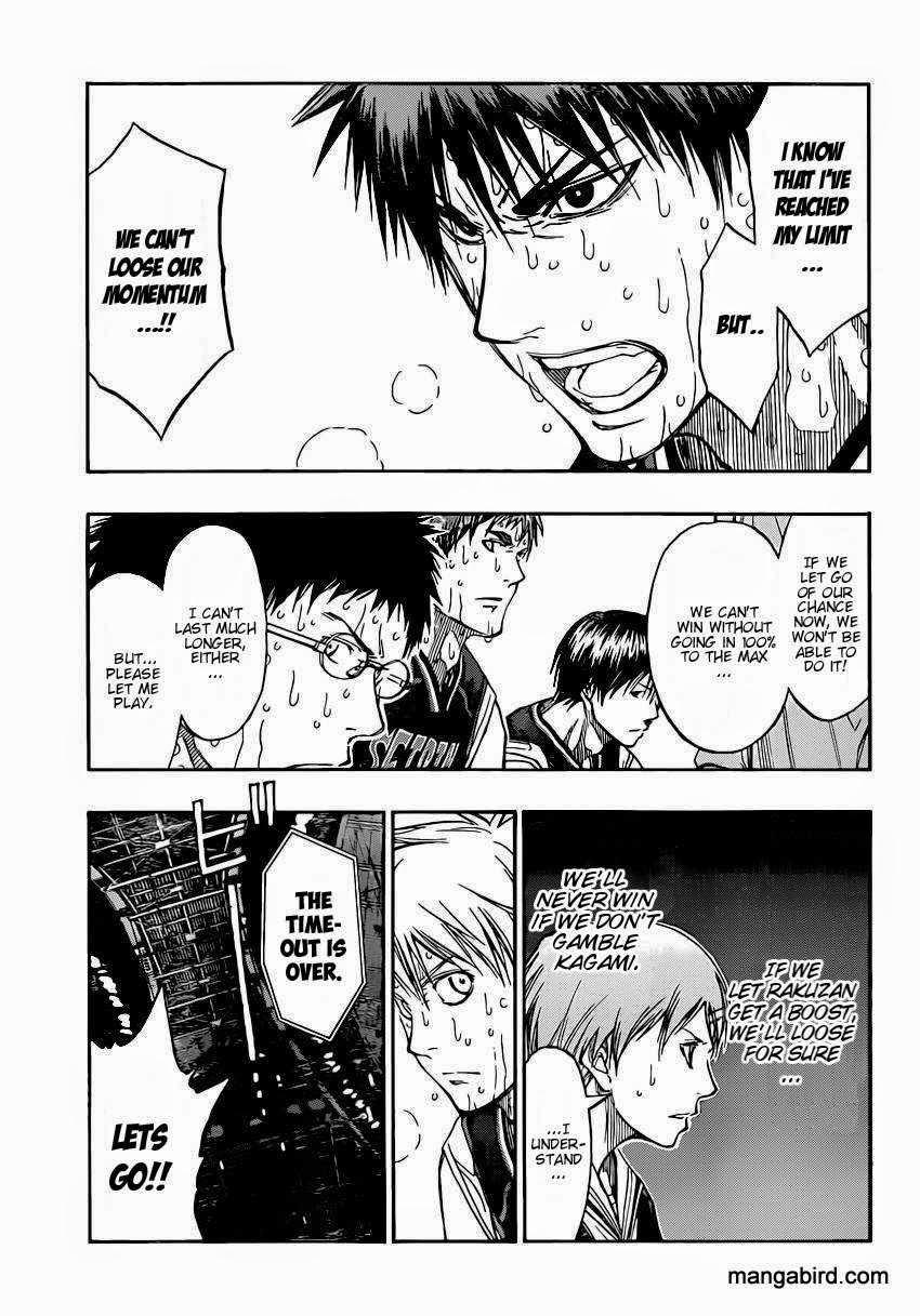 Kuroko no Basket Manga Chapter 265 - Image 07
