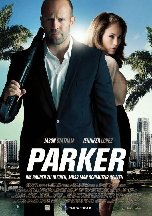 Poster Of Parker (2013) Full Movie Hindi Dubbed Free Download Watch Online At Alldownloads4u.Com