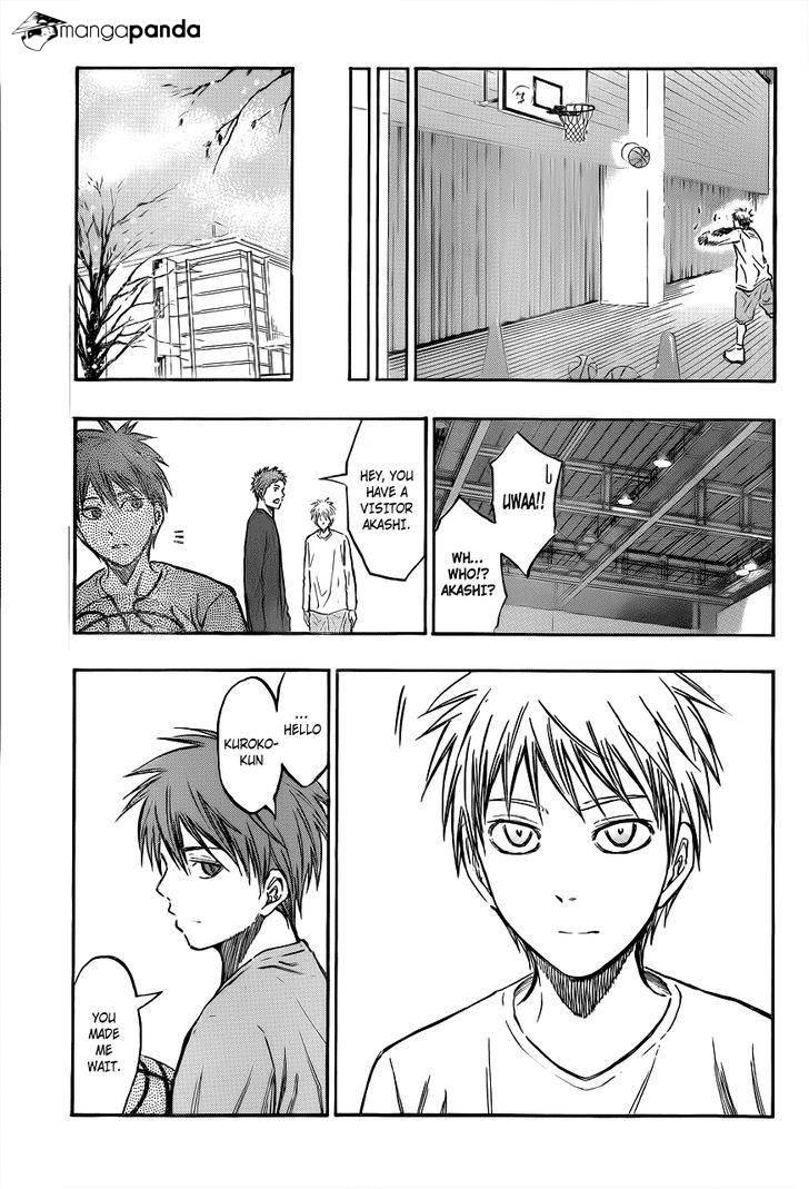 Kuroko no Basket Manga Chapter 206 - Image 16