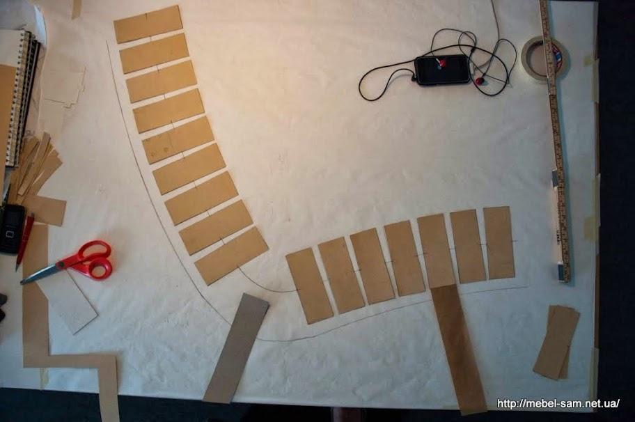Проработка чертежа кресла