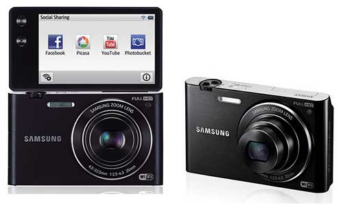 Samsung MV900, WiFi Camera With Features Like Kinect Gesture Control And Display Can Be Folded 180 Degrees