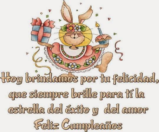 Increibles saludos tardios de feliz cumpleaños