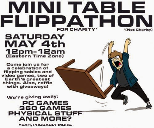 News The Mini Table Flippathon For Charity Not Charity