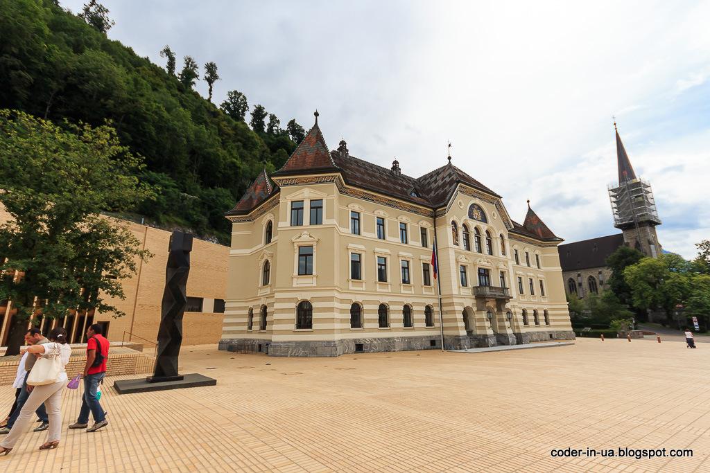 вадуц. княжество лехтенштейн