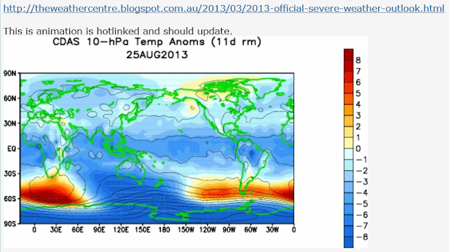 10hpa wave Aug 2013