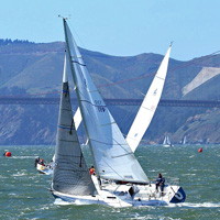 J/105 one-design sailing J/Fest San Francisco