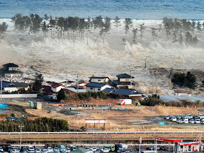 foto-foto gempa di jepang