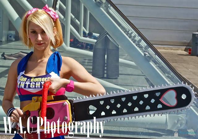 Ngắm Juliet Starling quyến rũ trong Lollipop Chainsaw - Ảnh 2