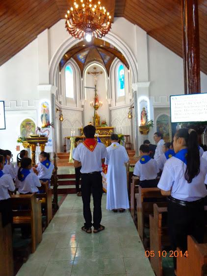 Thành Lập Xứ Đoàn Thiếu Nhi Thánh Thể Thánh Tâm, Giáo Xứ Nam Bình