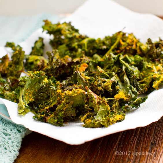 how to make kale chips with coconut oil