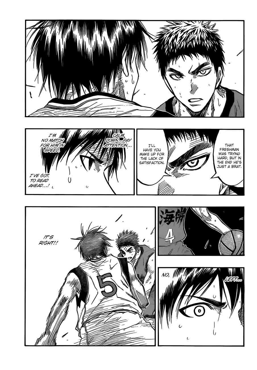 Kuroko no Basket Manga Chapter 188 - Image 11
