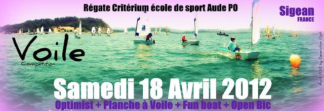 Optimist voile ecole_de_sport critérium Sigean Generation_Opti