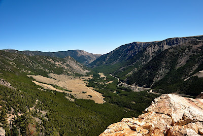 Views of the Beartooth Highway, Rock Creek and Hellroaring Roads
