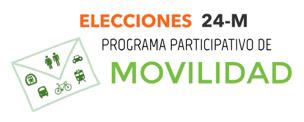 Elecciones 24-M Programa participativo de Movilidad