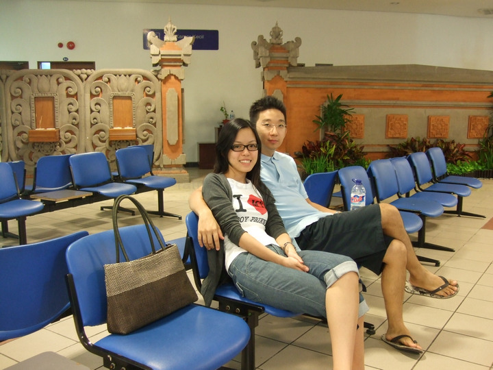 chris chee vivian tan bali airport